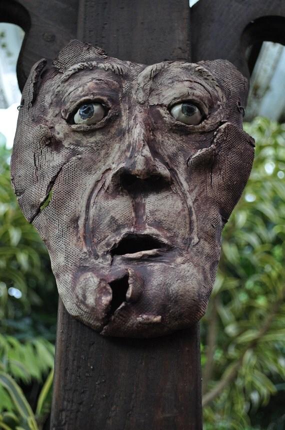 Bug Eyed ceramic mask