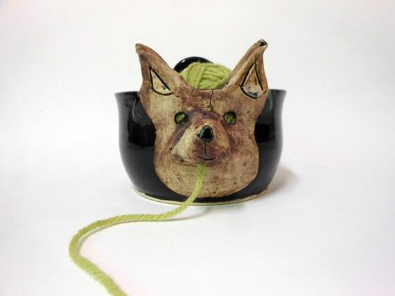 Pomeranian Ceramic Stoneware  Yarn Bowl