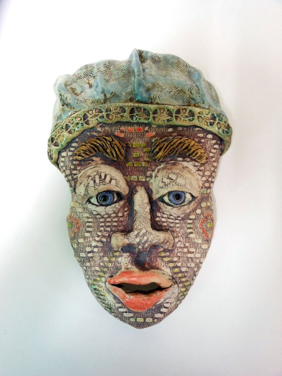 Day Dreaming Ceramic Mask