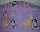 Disney Princesses Panels           1 yard