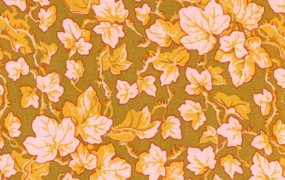 CLOSEOUT- Phillip Jacobs Westminster Ivy Collection PJ19 Ochre  1 yard