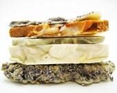 Soap Samples Stack of Natural Handmade Soap 4 oz