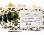 Gingerbread Soap from Bambu Earth Gift Wrapped in Plantable Paper Made with Organic Oils