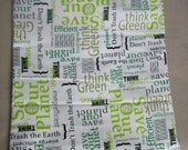 Earth Day 2012 'Save the Earth' Medium Diaper Wetbag