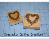 Lovely Heart Rubber Stamps