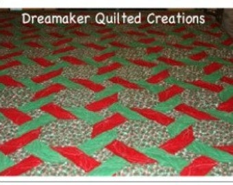 Holly Jolly Christmas Quilt