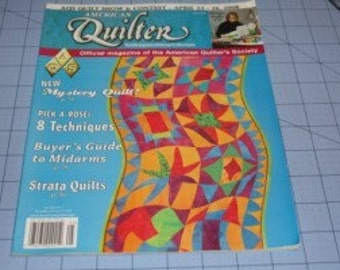 American Quilter Magazine May 2008