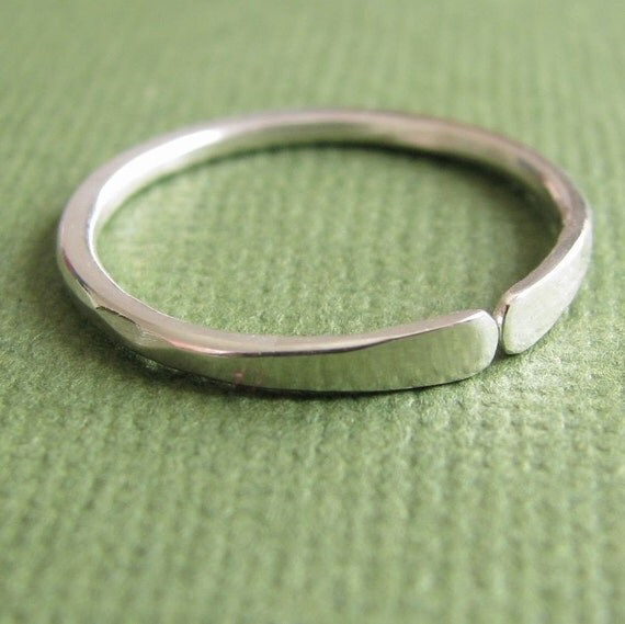 Can You Reach Me - sterling silver ring