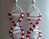 Queen of Hearts - DNA Earrings