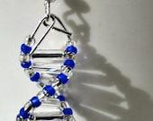 Silver Lining Genes - DNA earrings
