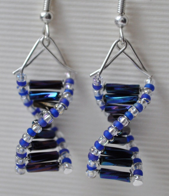NEW - Mystique Genes - DNA Earrings
