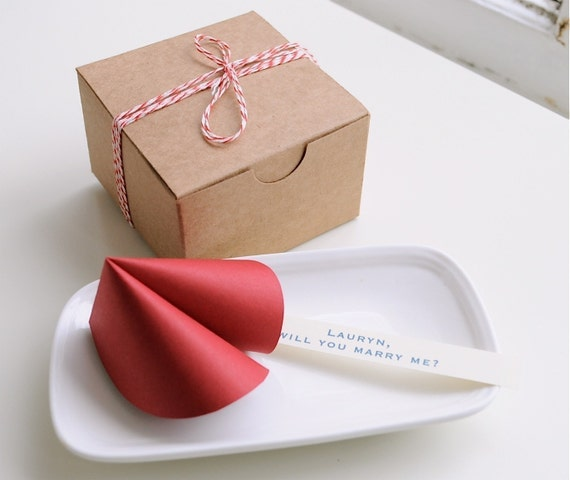 Reserved listing for andicochran Paper Fortune Cookies - All Proceeds Go To Japanese Relief Efforts