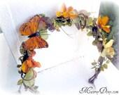 Monarch Butterfly Tiara