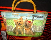 Great Looking Purse with cute Little Dogs on it