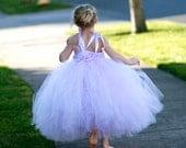 Lavender Lovely Tutu Dress - Size 5, 6, 6x, or 7
