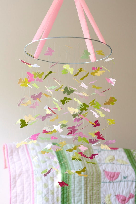 READY to SHIP - The Penelope Butterfly Mobile