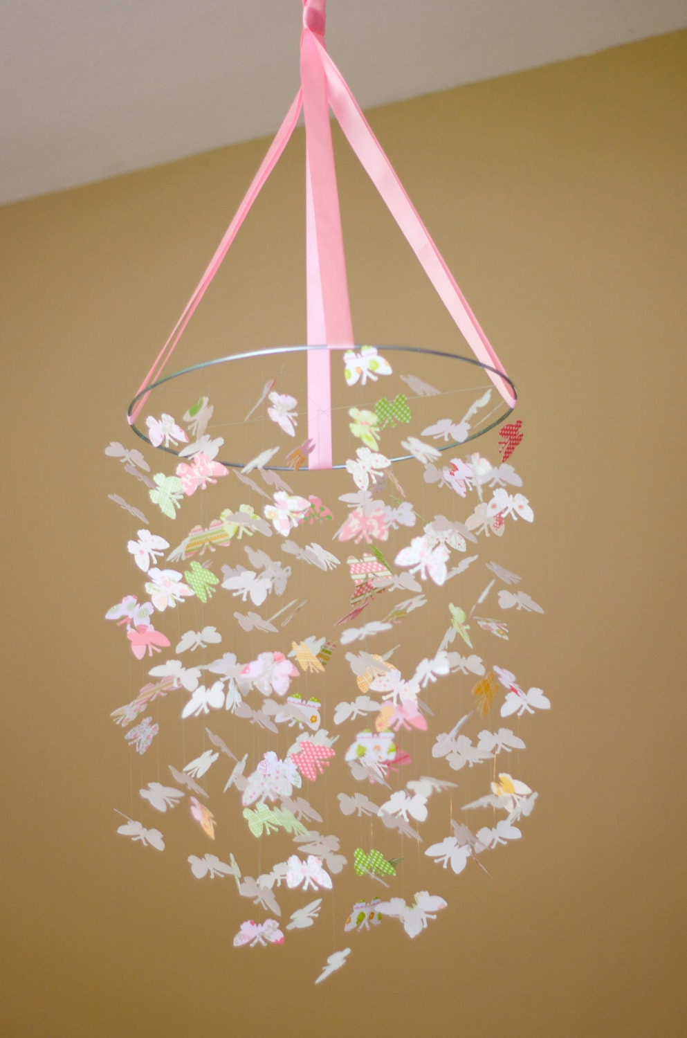 Pretty Baby Butterfly Mobile Kit Diy Great By