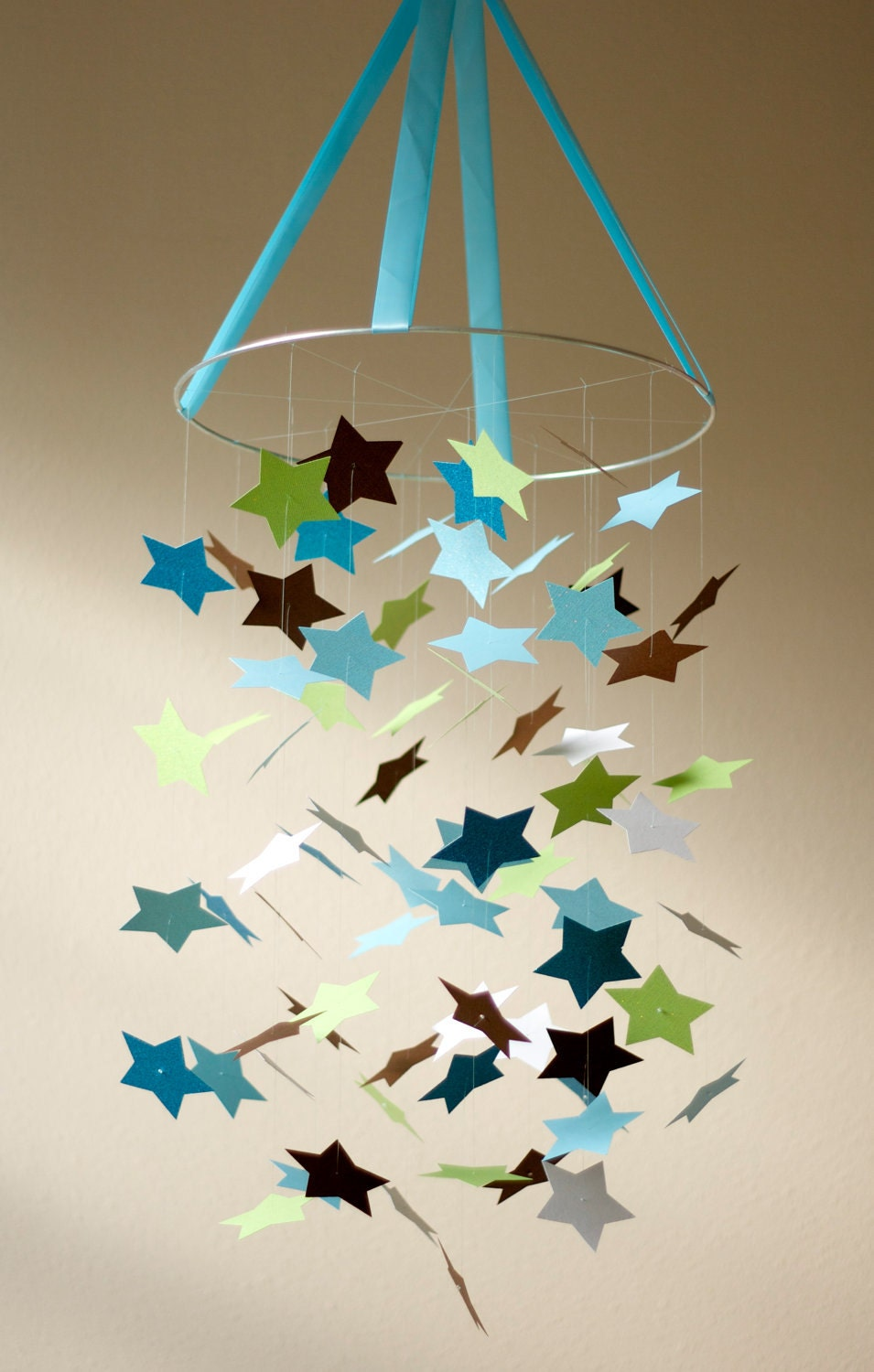 Baby Boy Star Mobile Kit Diy Great Craft Project