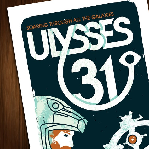 Ulysses 31. A high quality A3 art print