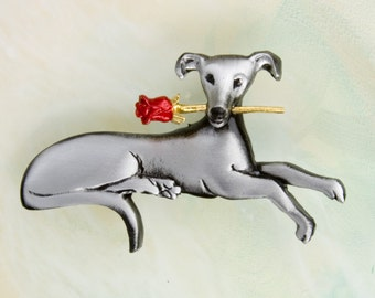 B423 Greyhound Pin/Pendant