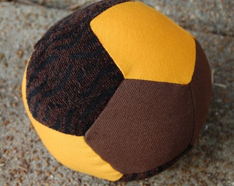 Canvas and Texture Fabric Ball