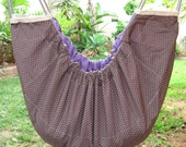 Baby Hammock and swinging seat, cradle, crib, cot for babies and kids - for indoor or outdoor use. subtle lattice pattern.