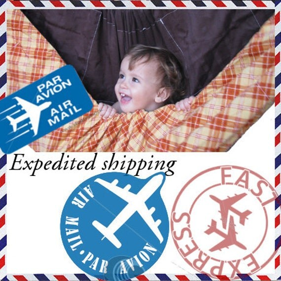 Expedited Shipping for your Zaza Hammock - 5 working days door to door delivery