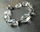 Rock Crystal Quartz Bracelet