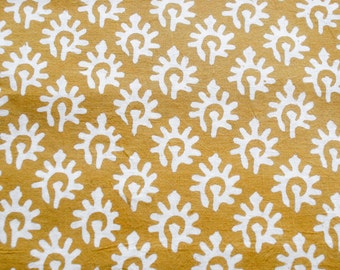 1 yard of indian Hand block printed fabric