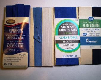 Vintage Bias Tape - Hem Tape - Seam Binding