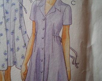 McCalls Pattern 8055 - New - Misses Dress - sizes 4, 6, 8
