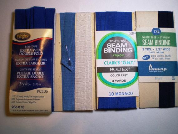 vintage bias tape hem tape seam binding. Black Bedroom Furniture Sets. Home Design Ideas
