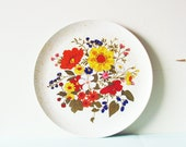 RESERVED FOR JESSICA-Mod Floral Melmac Plate