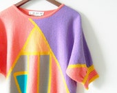 Geometric 80s Sweater