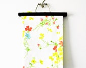 Vintage Pillowcase in Bright Floral Print