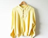Buttercream Oversized Vintage Sweater