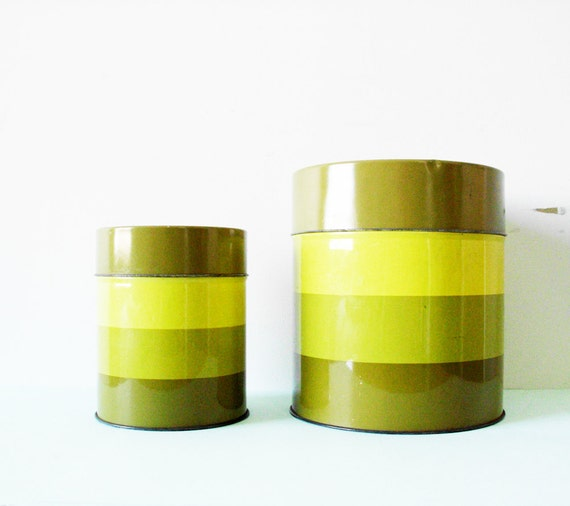 Mod Metal Canisters