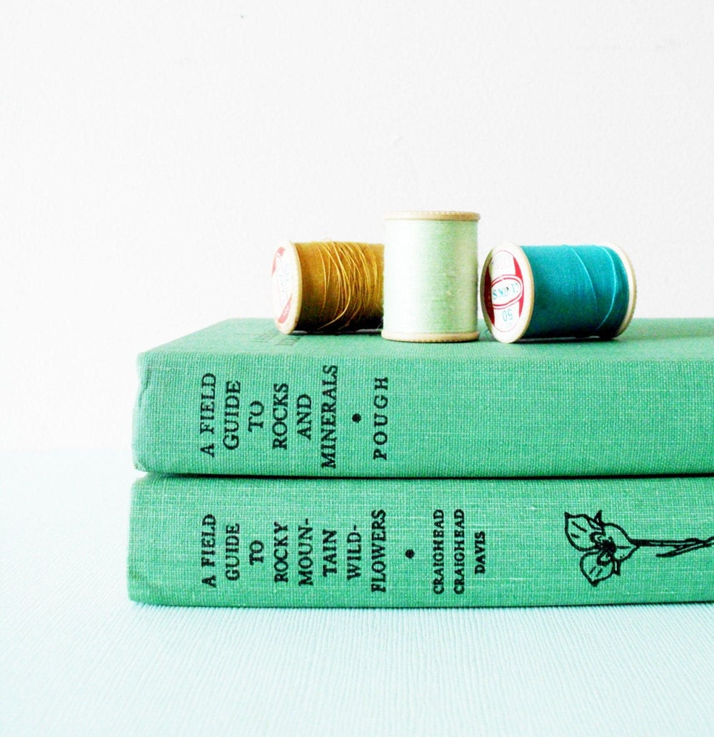 Field Guides: Vintage Field Guides