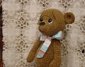 Reserved for Thesagemother  crochet teddy bear Graham