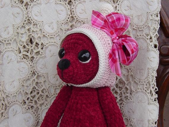 OOAK Artist Teddy Bear Valentine Ruby
