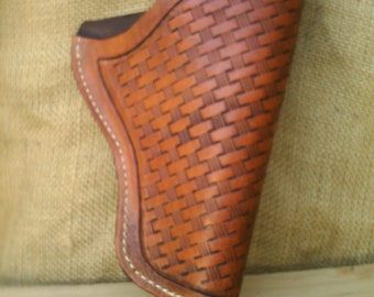 ANTIQUE BROWN 357 HOLSTER