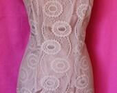 Vintage Lace Shift Dress