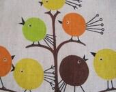 Vintage Half Apron MOD Birds