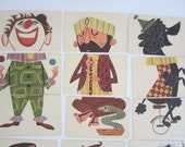 Vintage Mixies Card Game 1950s COMPLETE