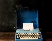 Typewriter Royal Century Turquoise Manual Portable From NowVintage on Etsy