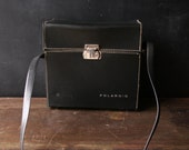 Reserve Polaroid Carrying Case Black With Shoulder Strap Vintage from Nowvintage on Etsy