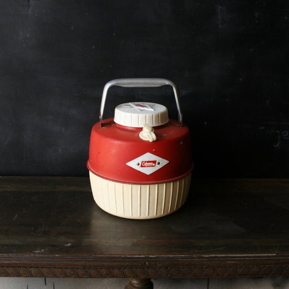 Vintage Coleman Water Jug for Camping, Picnicing and sports from NowVintage on Etsy