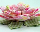 Fabric Lotus Flower PDF Tutorial
