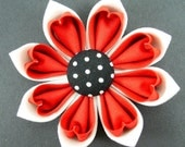 Kanzashi Fabric Flower Tutorial PDF ... 2 Double Petal Versions ... No Machine Sewing ... New