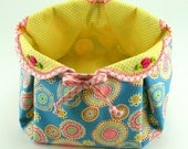 Fabric Basket PDF Sewing Pattern Tutorial ... with different variations included